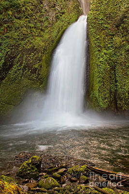 Photograph - Wahchella Falls by Stuart Gordon