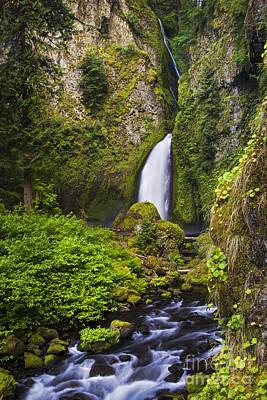 Photograph - Wahclella Falls 2 by Sonya Lang
