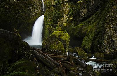 Wahclella Falls Columbia River Gorge Oregon Original