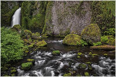 Photograph - Wahclella Falls by Erika Fawcett