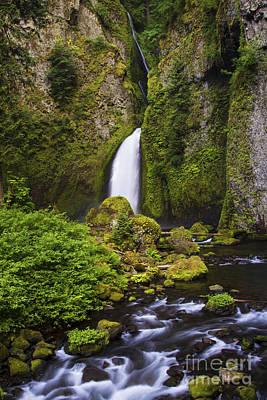 Photograph - Wahclella Falls by Sonya Lang