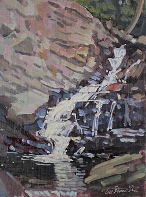 Painting - Wahconah Falls by Len Stomski