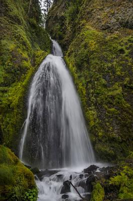 Photograph - Wahkeena Falls by Loree Johnson