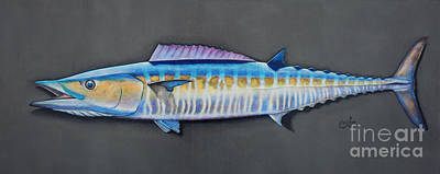 Painting - Wahoo 3d by Johnny Widmer