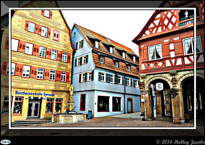 Digital Art - Waiblingen by Holley Jacobs