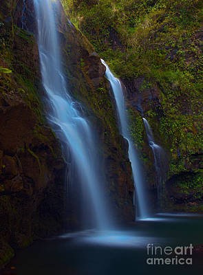 Photograph - Waikani Falls Maui by David Olsen