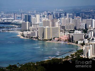 Photograph - Waikiki Beach by Eva Kato