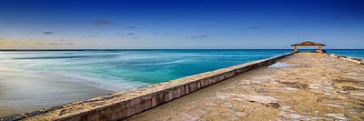 Photograph - Waikiki Beach Walk Panoramic by Tin Lung Chao