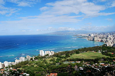 Photograph - Waikiki From Diamond Head by Caroline Stella