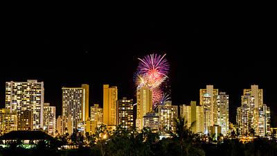 Photograph - Waikiki Party 2 by Jason Chu