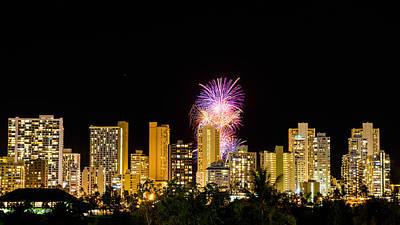 Photograph - Waikiki Party 4 by Jason Chu