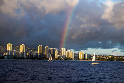 From The Kitchen - Waikiki Rainbow by Casey Barnett