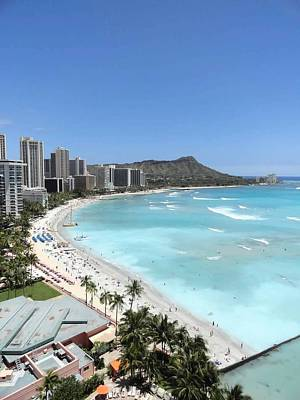 Photograph - Waikiki Standard by Robert Meyers-Lussier