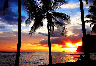 Photograph - Waikiki Sunset by Kara  Stewart