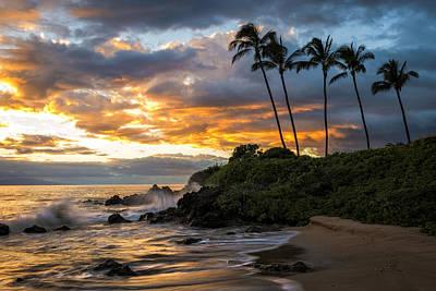 Photograph - Wailea Sunset by Hawaii  Fine Art Photography
