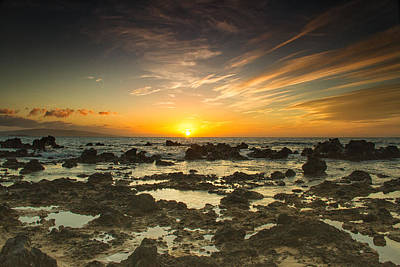Photograph - Wailea Sunset by Kunal Mehra