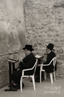 Photograph - Wailing Wall #5 by Tom Griffithe