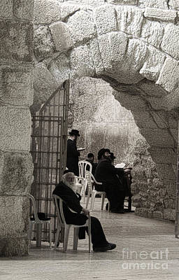 Photograph - Wailing Wall #6 by Tom Griffithe