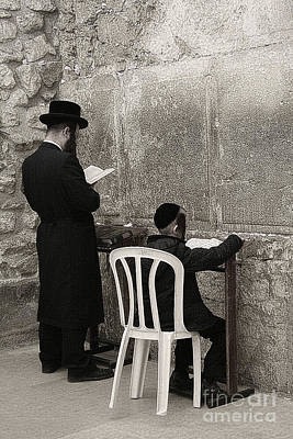 Photograph - Wailing Wall #7 by Tom Griffithe