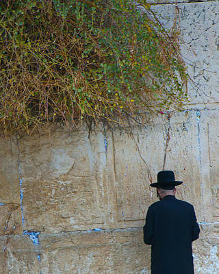 Photograph - Wailing Wall by Don Wolf