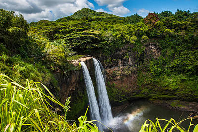 Photograph - Wailua Falls by Harry Spitz