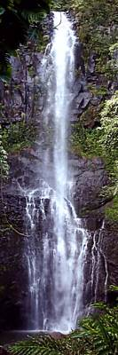 Wailua Falls Maui Hawaii Art Print
