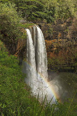 Photograph - Wailua Falls - Wailua - Kauai - Hawaii by Belinda Greb