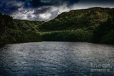 Digital Art - Wailua River 2 by Charles Davis