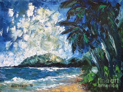 Painting - Waimanalo by Larry Geyrozaga