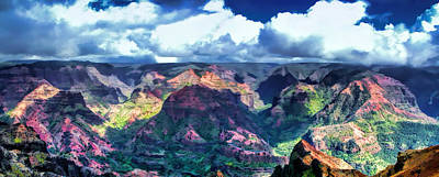 Photograph - Waimea Canyon 1 by Dawn Eshelman