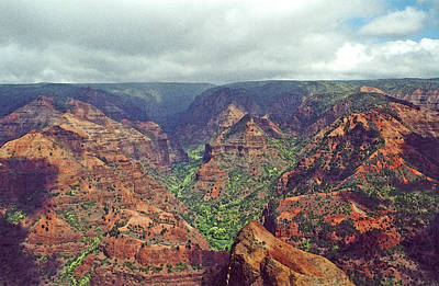 Waimea Canyon Art Print by Mary Bedy