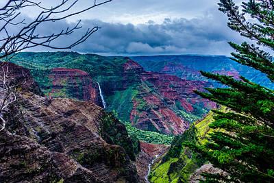 Photograph - Waimea Canyons by Tex Wantsmore