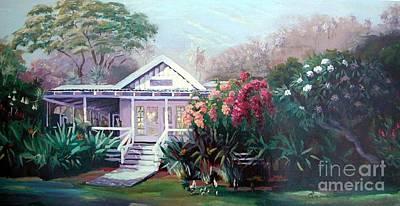Waimea Dream Art Print by Evonne Bishop