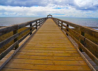 Photograph - Waimea Pier by Tracey McQuain