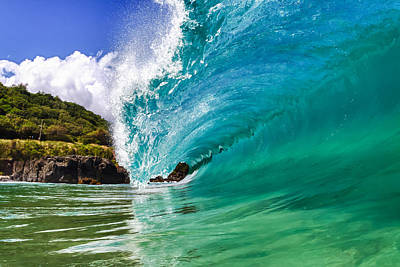 Surfing Photograph - Waimea Pitch by Gregg  Daniels