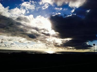 Photograph - Waimea Sunset- Edit by Alohi Fujimoto