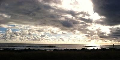 Photograph - Waimea Sunset II by Alohi Fujimoto