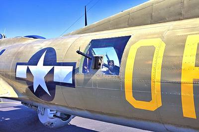 Photograph - Waist Gunner's Spot by Gordon Elwell