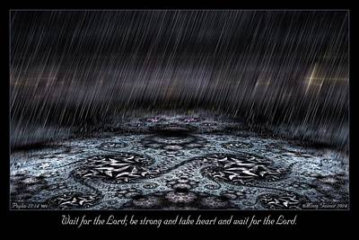 Digital Art - Wait For The Lord by Missy Gainer