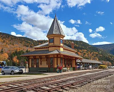 Photograph - Waiting At The Crawford Depot by Adam Jewell