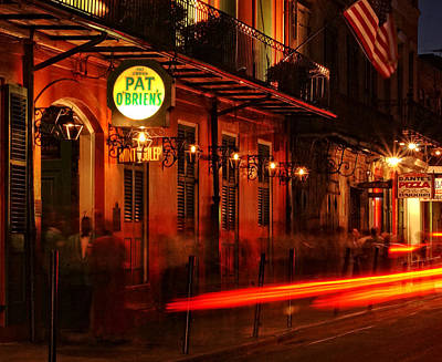 Bourbon Street Photograph - Waiting For A Hurricane by Greg and Chrystal Mimbs