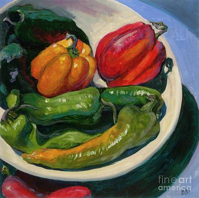 Painting - Waiting For An Onion by Betsee  Talavera
