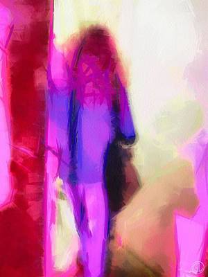 Leaning Digital Art - Waiting For Company by Gun Legler