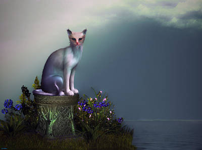Waiting For His Return Art Print by Tyler Robbins