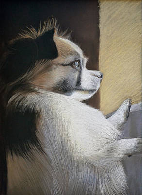 Pastel - Waiting For Mommy Pastel by Ben Kotyuk