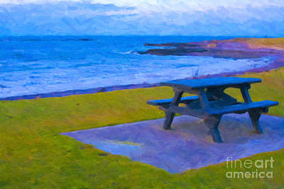 Digital Art - Waiting For Summer by Diane Macdonald