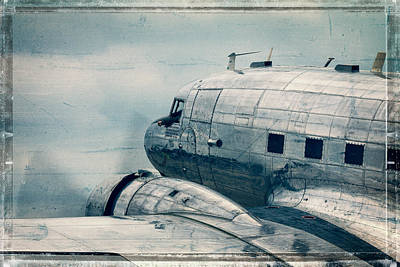 Waiting For Take Off Art Print by Steven Bateson