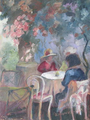 Waiting For Tea Art Print by Susan Richardson