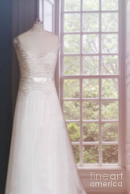 Bridal Gown Photograph - Waiting For The Day by Margie Hurwich