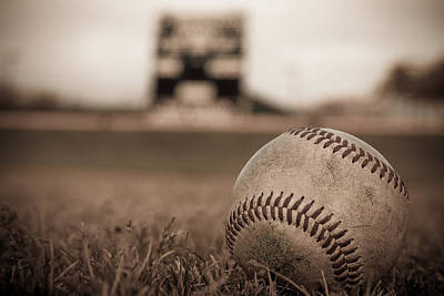 Photograph - Waiting For The First Pitch by Dave Hall